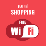 Gaudí Shopping Free Wifi