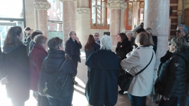 Guided tour of the Sant Pau Modernist Site