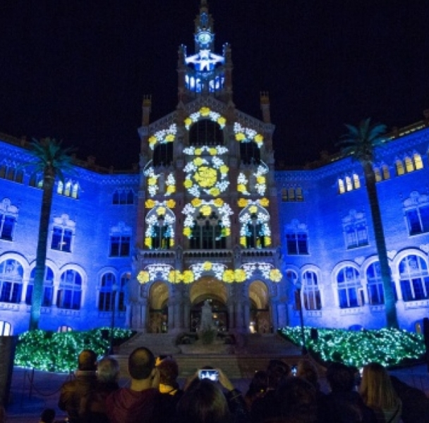 Mapping The Light of Sant Pau