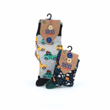 Pack calcetines hombre y mujer Les Inseparables