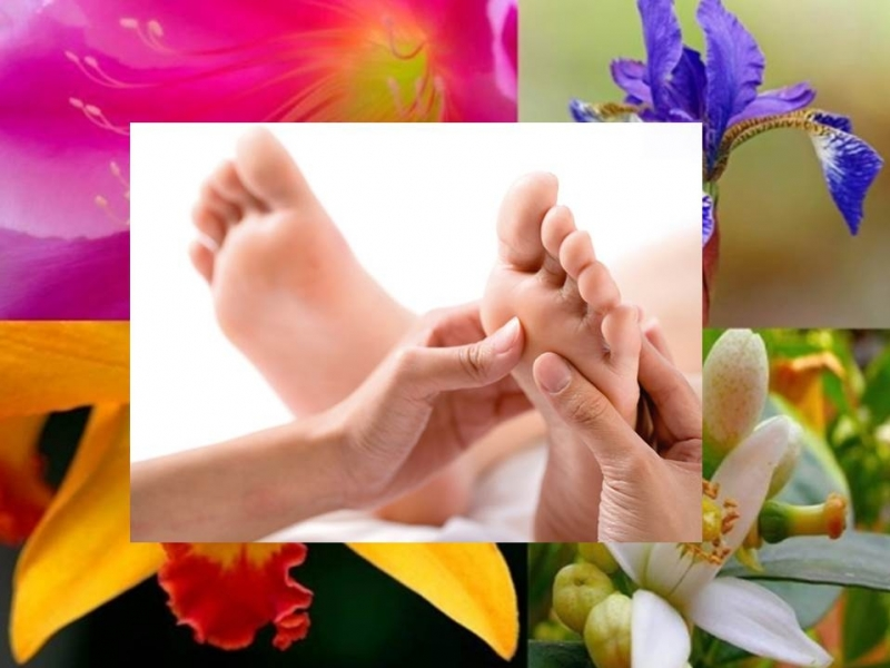 30% discount 5 sessions of foot reflexology + Bach flowers.