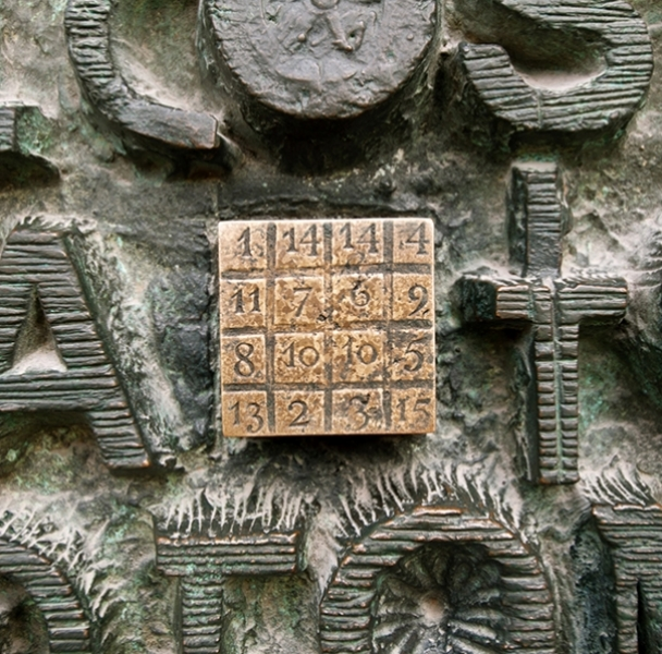 The Magic Square in Sagrada Família